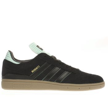 Adidas Black & Green Busenitz Trainers