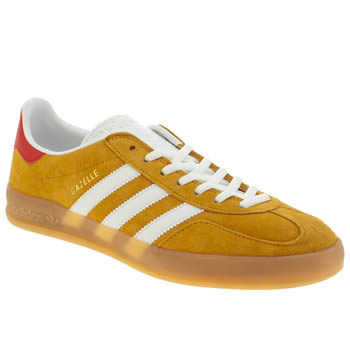 Adidas Yellow Gazelle Indoor Trainers