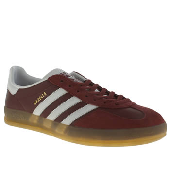 Adidas Red Gazelle Indoor Trainers