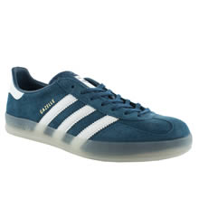 Blue Adidas Gazelle Indoor