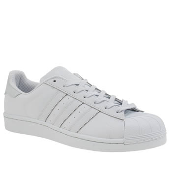 ADIDAS HALO BLUE ADICOLOR SUPERSTAR SO BRIGHT TRAINERS