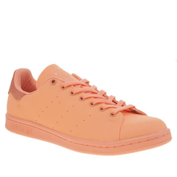 Adidas Peach Adicolor Stan Smith So Bright Trainers