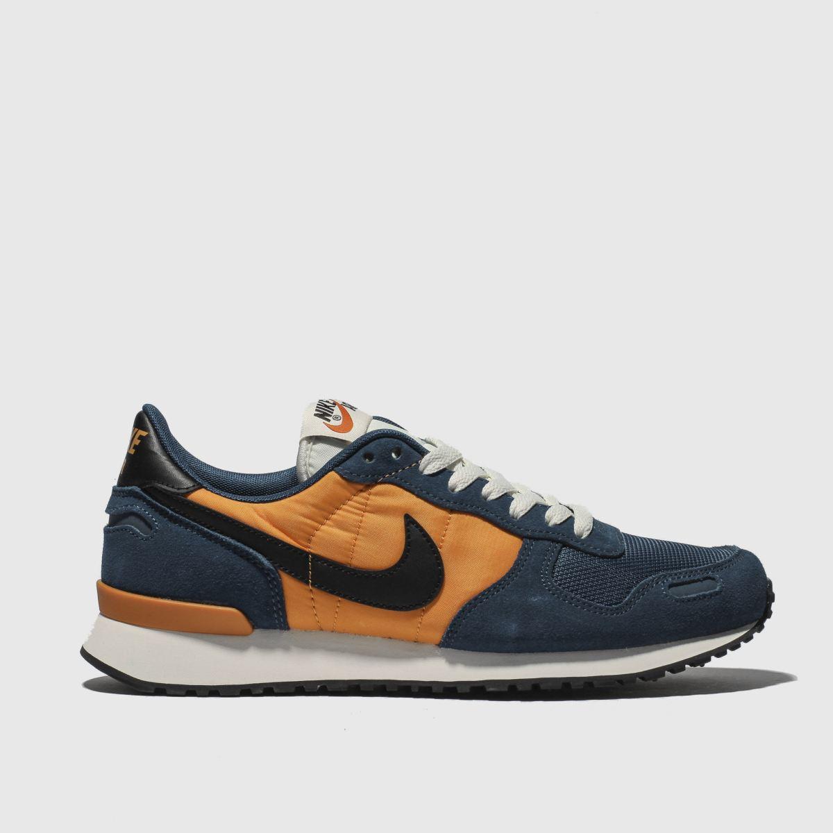 Nike Navy & Orange Air Vortex Trainers
