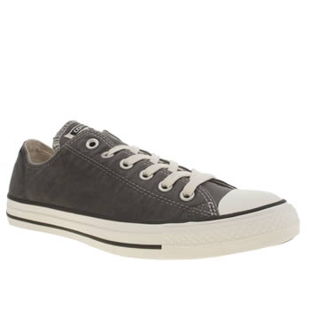 Mens Converse Dark Grey Ctas Ox Sunset Wash Trainers