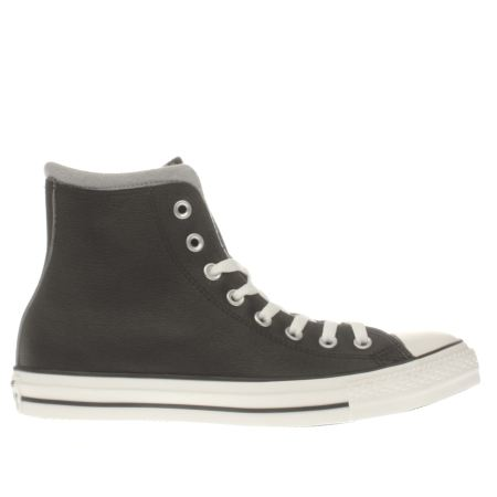 converse all star hi leather/wool 1