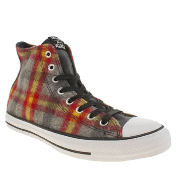 Converse Multi Ctas Hi Woolrich Trainers