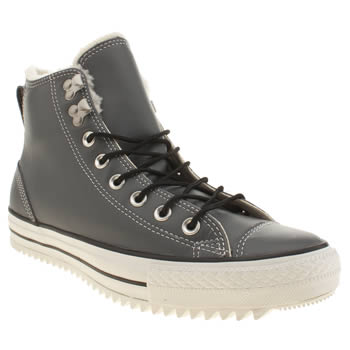 Converse Grey All Star City Hiker Hi Trainers