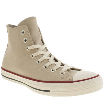 Converse Stone All Star Vintage Hi Leather Trainers
