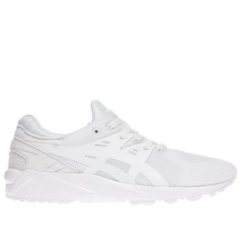 Asics White Gel-kayano Evo Trainers
