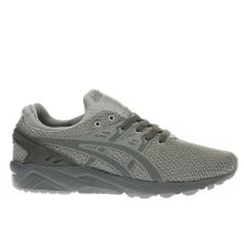 Asics Grey & Khaki Gel-kayano Evo Mens Trainers