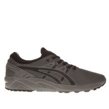 Asics Grey & Black Gel-kayano Evo Trainers