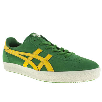 mens onitsuka tiger green vickka moscow trainers