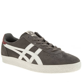 Mens Onitsuka Tiger Grey Vickka Moscow Trainers