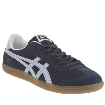 Mens Onitsuka Tiger Navy & Pl Blue Tokuten Trainers