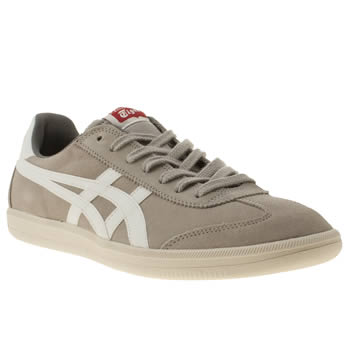 mens onitsuka tiger grey tokuten trainers