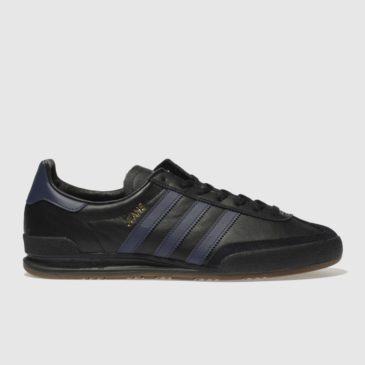 Adidas Black And Blue Jeans Trainers