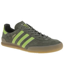 Adidas Green Jeans Mens Trainers