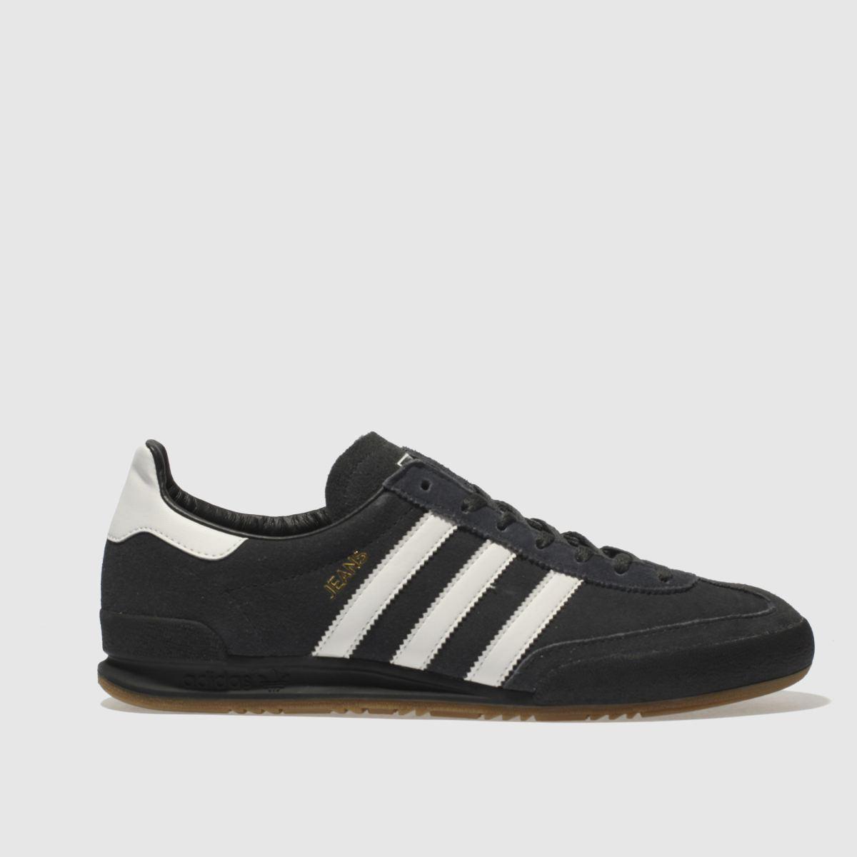 Adidas Dark Grey Jeans Trainers