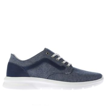 Vans Blue Iso 2 Mens Trainers