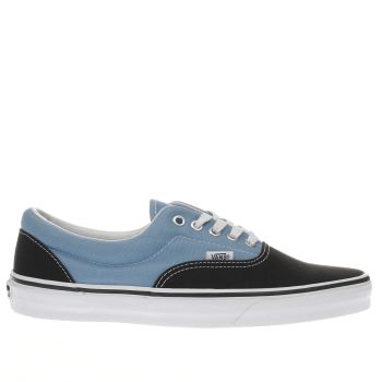 Vans Black and blue Era Trainers