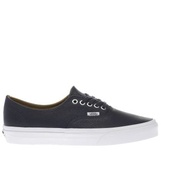 Vans Navy Authentic Decon Mens Trainers