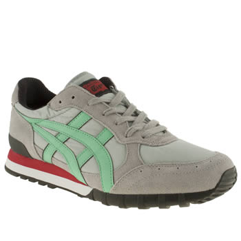 mens onitsuka tiger light grey colorado 85 trainers