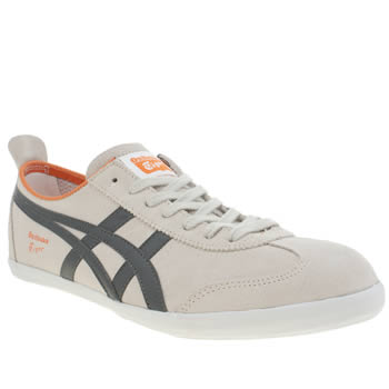 Mens Onitsuka Tiger Stone Mexico 66 Vulc Trainers