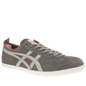 Onitsuka Tiger Grey Mexico 66 Vulc Trainers