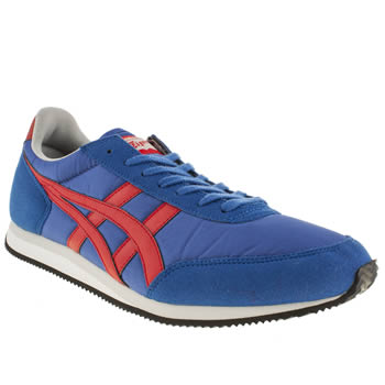 Mens Onitsuka Tiger Blue Sakurada Trainers