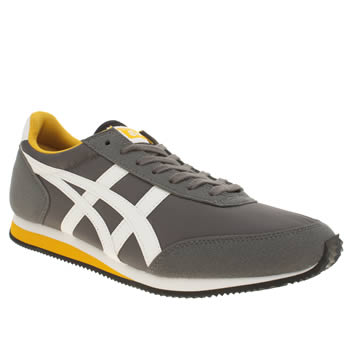 Mens Onitsuka Tiger Dark Grey Sakurada Trainers