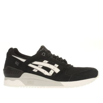 Asics Black & White Gel-respector Trainers