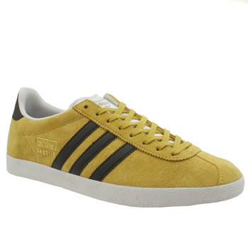 Adidas Yellow Gazelle Og Trainers
