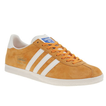 Adidas Orange Gazelle Og Trainers