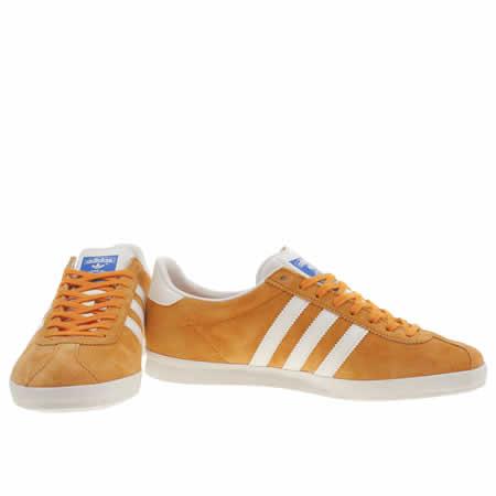 adidas gazelle og orange