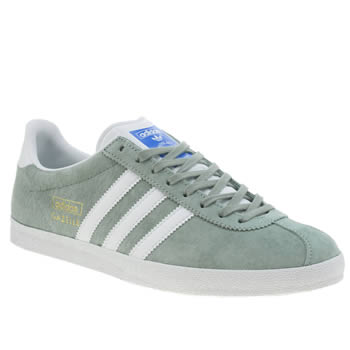 Adidas Light Green Gazelle Og Trainers