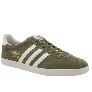 Adidas Dark Green Gazelle Og Trainers