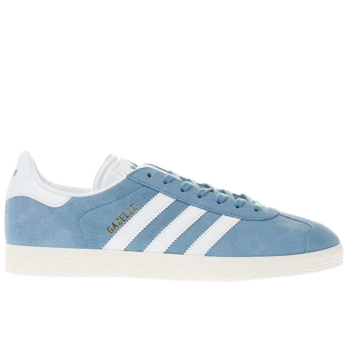adidas blue gazelle og trainers