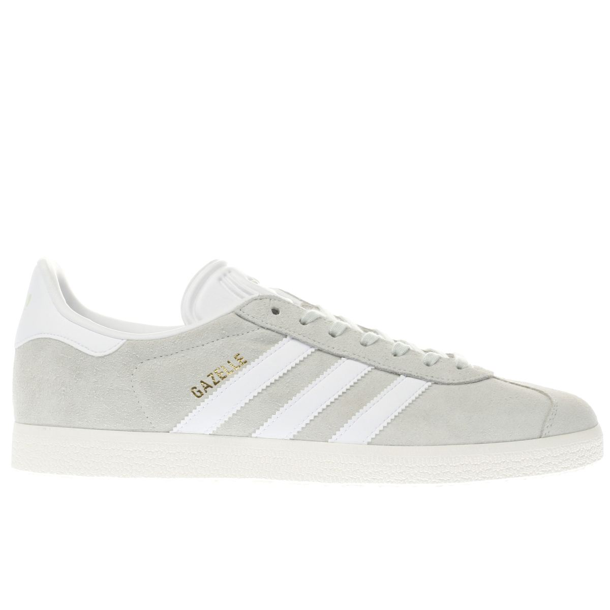 adidas light green gazelle trainers