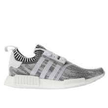 Adidas Black & White Nmd_r1 Primeknit Mens Trainers