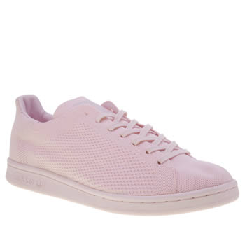 Adidas Pink Stan Smith Primeknit Trainers