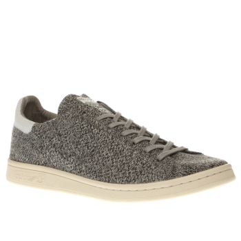 Adidas Grey Stan Smith Primeknit Trainers