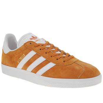 Adidas Orange Gazelle Trainers
