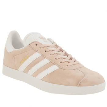Adidas Pale Pink Gazelle Trainers