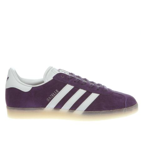 Adidas Purple Gazelle Trainers