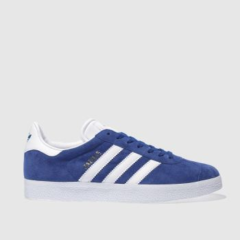 Adidas Blue Gazelle Mens Trainers