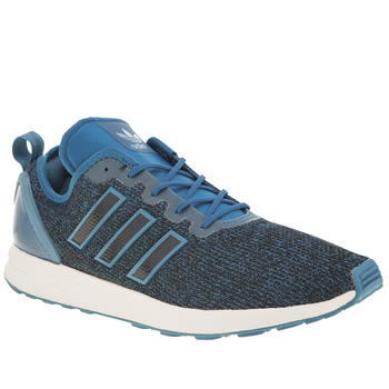 Adidas Navy Zx Flux Adv Mens Trainers