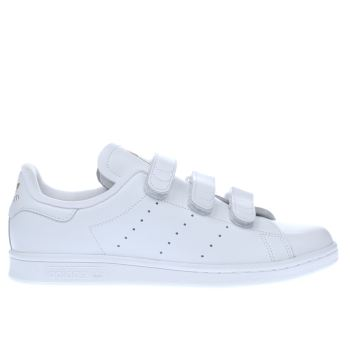 Adidas White Stan Smith Comfort Mens Trainers