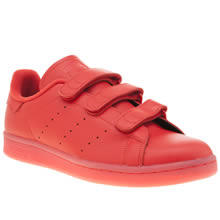 Adidas Red Stan Smith Comfort Mens Trainers
