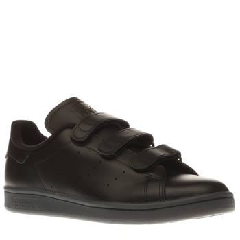 Adidas Black Stan Smith Comfort Mens Trainers
