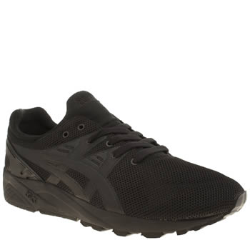 Mens Asics Black Gel-kayano Trainers
